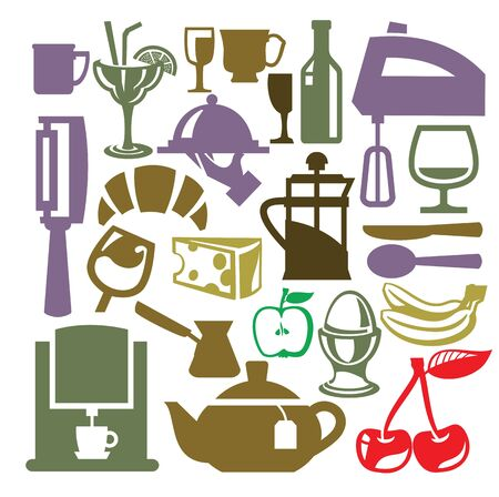 kitchen icon Stock Vector - 19046833