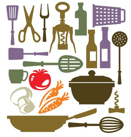 kitchen icon Stock Vector - 19046832