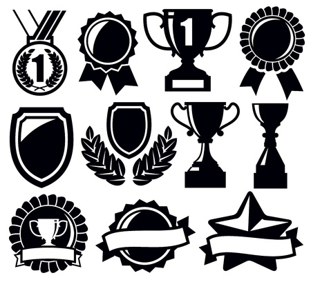 award winning: trophy and awards