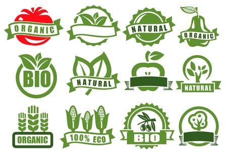 Emblemas verdes del eco
