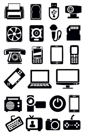 electronic devices icon Stock Vector - 19264781