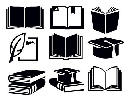 portadas de libros: iconos de libro
