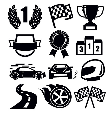 auto icons Stock Vector - 19419985