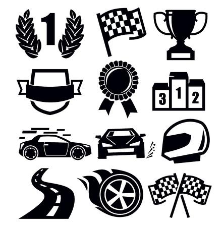 trophy winner: auto ikony