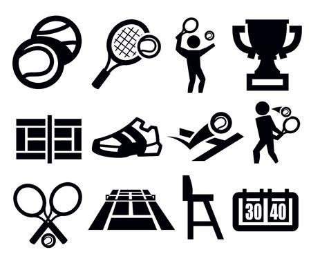 tennis shoe: tennis icon