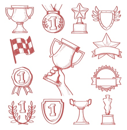 trophy and awards Stock Vector - 20011458
