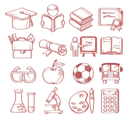 hand drawn education Stock Vector - 20011457