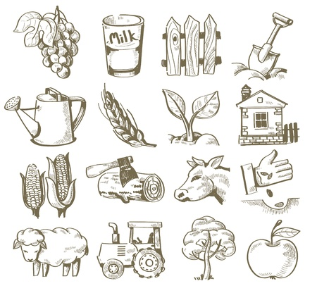 hand draw village Stock Vector - 20011464