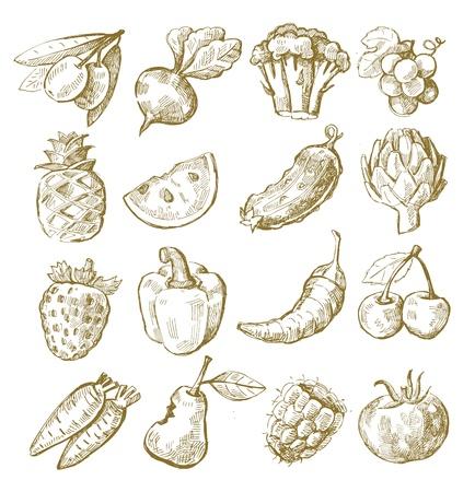 remolacha: mano de la cuerda de frutas y hortalizas