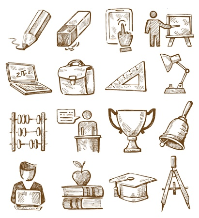 hand drawn education Stock Vector - 20246073