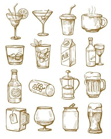 手描き下ろし飲料