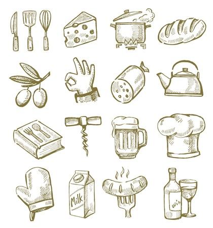 excellent: hand drawn kitchen
