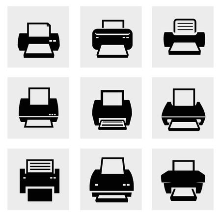 Printer icons photo