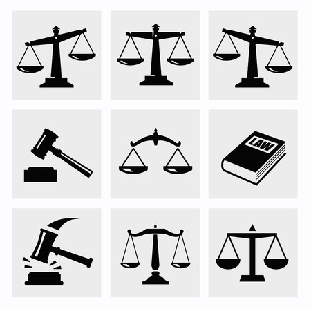 derecho penal: escalas icono