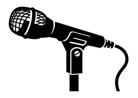 microfono antiguo: micrófono