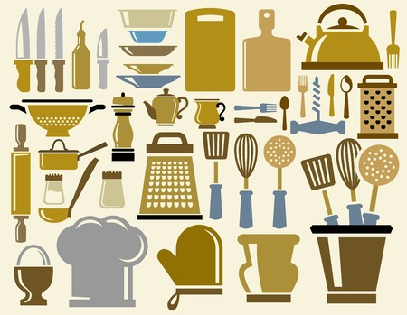 kitchen icons photo