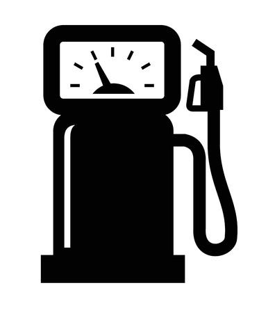 gas pump: gas station icon