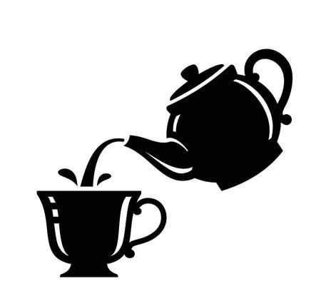 Tee-Symbol Standard-Bild - 26427828