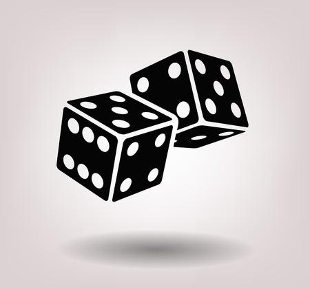 dice cubes Stock Photo