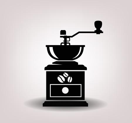 Kaffeemühle Standard-Bild