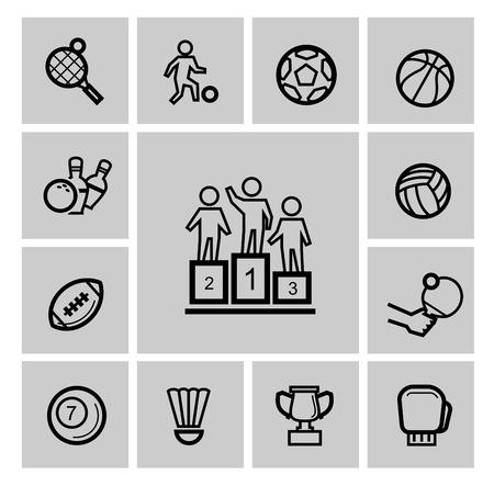 Sports icons photo