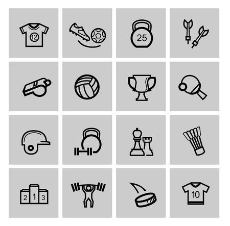 activity icon: Sports icons Stock Photo
