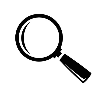 magnify glass: vector magnifying glass