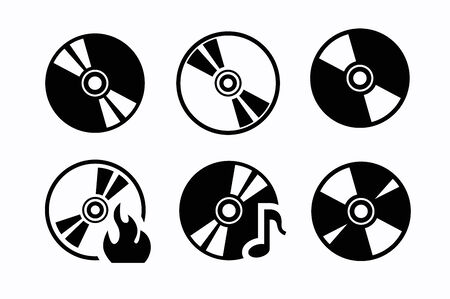 cdr: CD icons