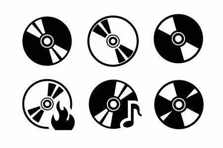 cd: CD icons