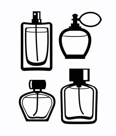 Perfume icon Stock Photo