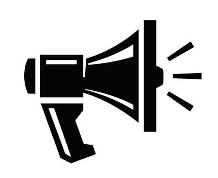 communicatio: megaphone icon