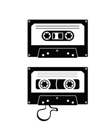 tape cassette: audio tape