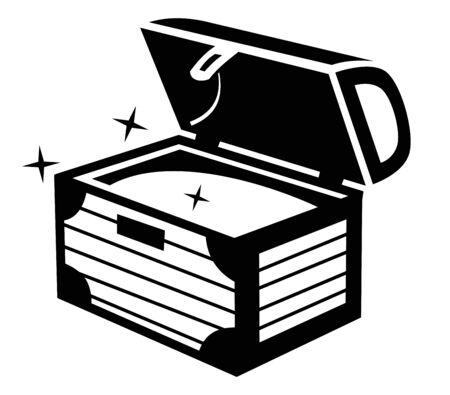 treasure chest: Treasure chest icon