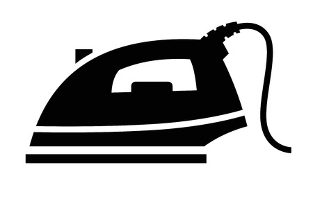 steam iron: Steam iron icon