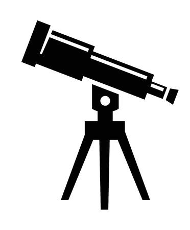 Telescope icon photo