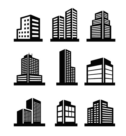 buildings town home: Buildings icons