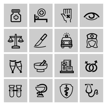 Medicine & Heath Care icons photo
