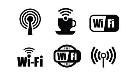 Technologie Wi-Fi Stockfoto - 33406950