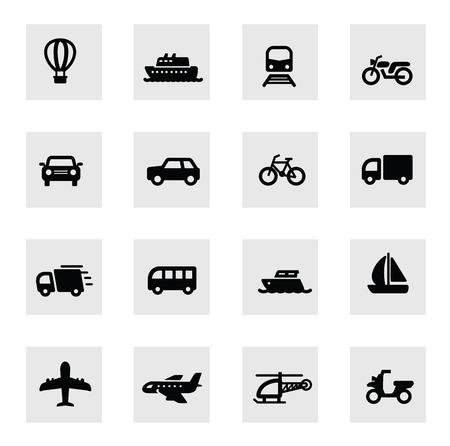 transports icône Vecteurs