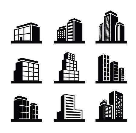 construccion: Edificio icono