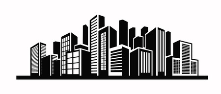 Buildings icon Stock Vector - 33473017