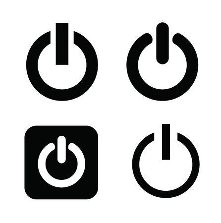 close button: shut down icons