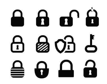 padlock icon Vector