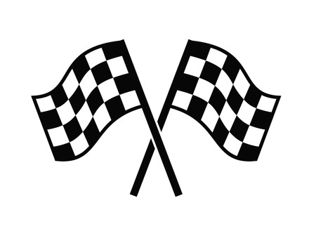 checkered flags icon