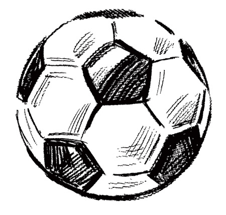 ball game: soccer ball