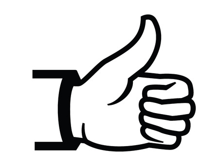 thumbs up icon: Thumbs up