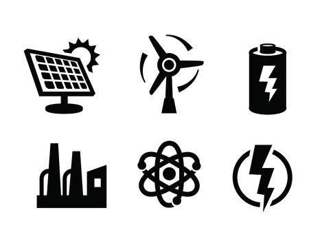 solar panel icon Ilustracja