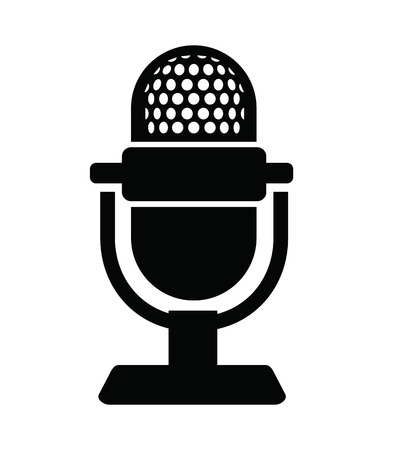 Microphone Icon Ilustração