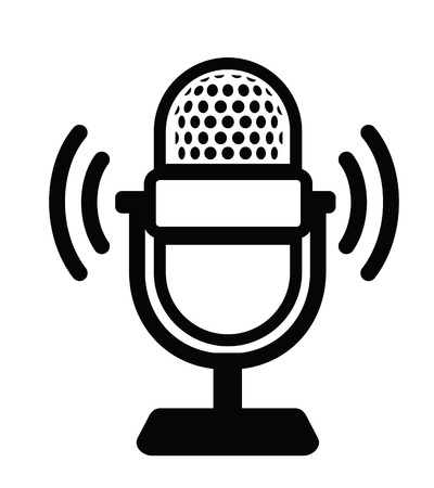Microphone Icon Ilustrace