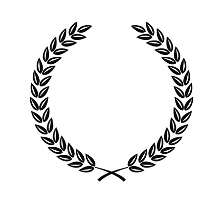 月桂樹の花輪
